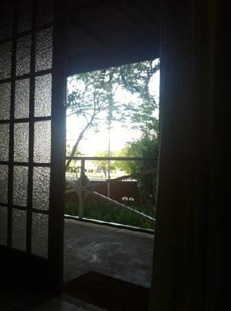 Blommenberg Guest House: view from inside the room