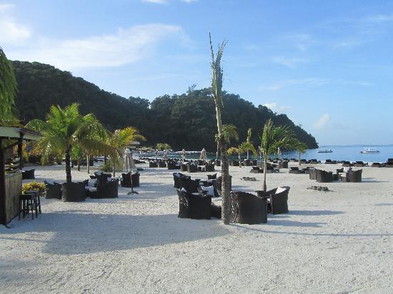 Buccament Bay Resort: Lovely beach