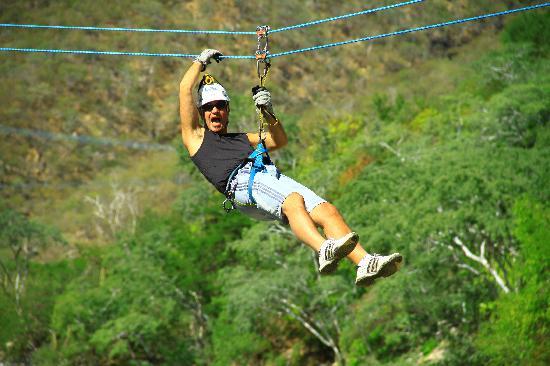 Hotel Riu Palace Cabo San Lucas: Cabo Adventure escalade