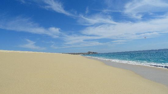 Hotel Riu Palace Cabo San Lucas: plage Medano