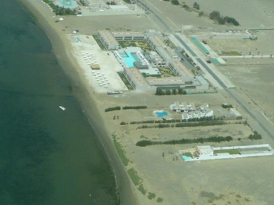 DoubleTree Resort by Hilton Hotel Paracas: Aerial view when we flew to see the Nazca Lines
