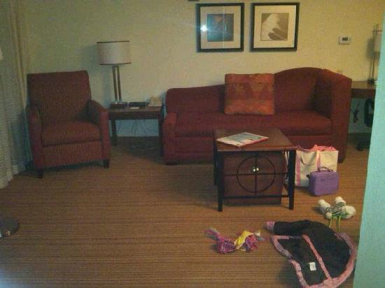 ريزيدنس إن باي ماريوت بورتلاند سكاربورو: Living Room