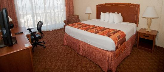 BEST WESTERN Corpus Christi: Standard King with New Mattress and Bedding