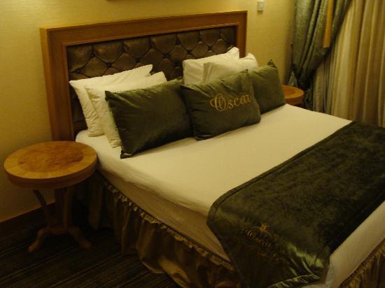 Oscar Resort Hotel: La mia stanza - Il letto