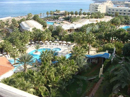 Oscar Resort Hotel: Vista dall'alto dell'hotel