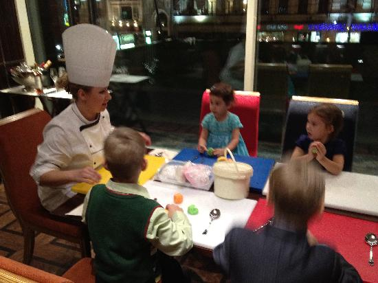 InterContinental Moscow Tverskaya Hotel: Cooking class for children