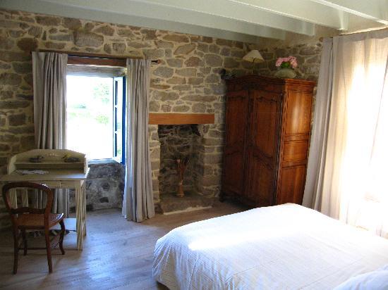 Chez Tante Phine: Unser Zimmer Ar-goat im Haupthaus im 1. OG