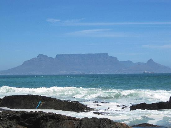 Bloubergstrand Beach: View of Table Mountain