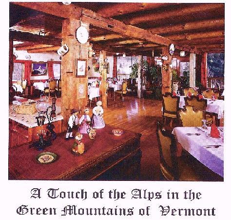 Dalem's Chalet: Seasonal Diningroom