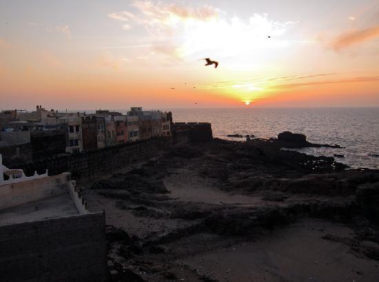 Dar Al Bahar: sunset sight.