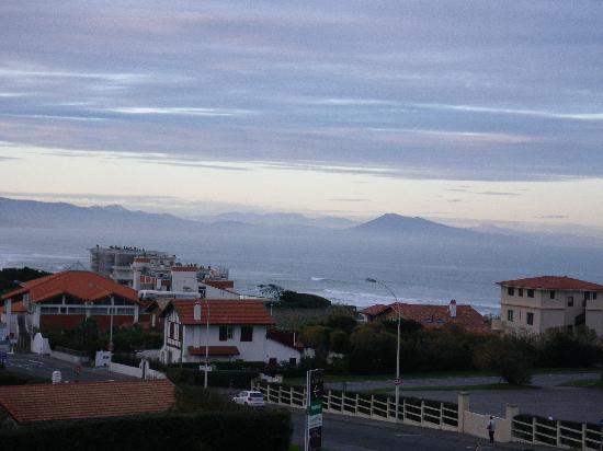 Hotel Le Biarritz : vue ocean de la chambre hotel