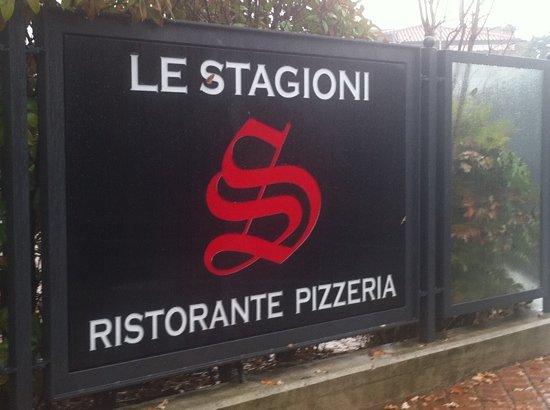 Orio Al Serio, Italië: Il marchio posto all'ingresso