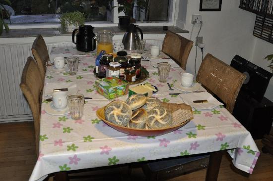 Copenhagen B&B: Desayuno