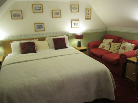 Galson Farm Guest House : Our room