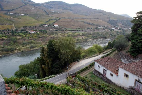 Quinta de Marrocos : The Douro as seen from the terrace
