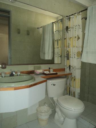 Hotel Verde Mar: baños limpios y en buen estado