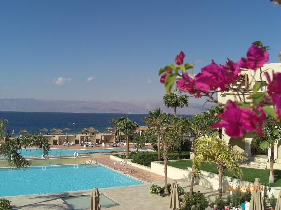 Radisson Blu Tala Bay Resort, Aqaba: Utsikt fra Sun Deck