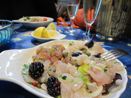 L'Officina Del Pesce : Vorspeisenteller