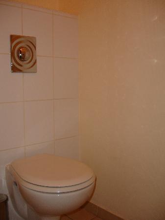 Hotel de l'Europe : mezzo bagno con wc