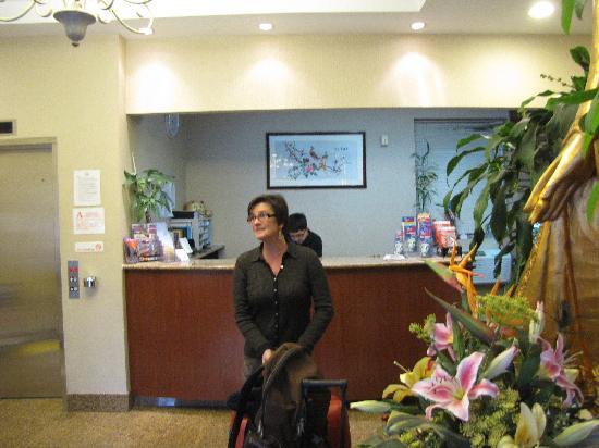 Windsor Hotel: Vue accueil
