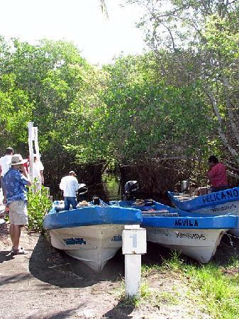 Cuyutlan: Lagoon Boats