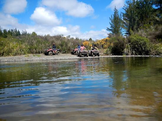 Tongariro Quads: Yep, we're going to cross this