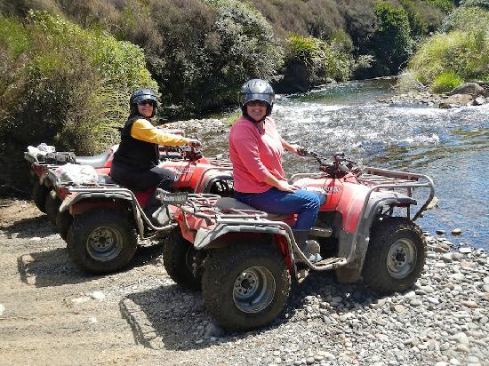 Tongariro Quads: And it's not standing water