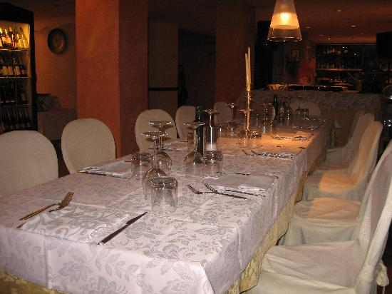Hotel Colle della Trinita: sala da pranzo