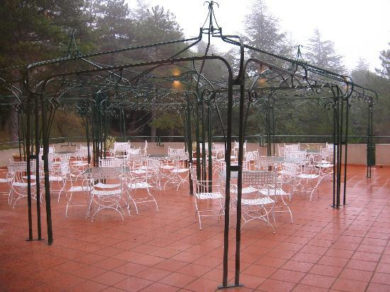 Hotel Colle della Trinita: terrazzo
