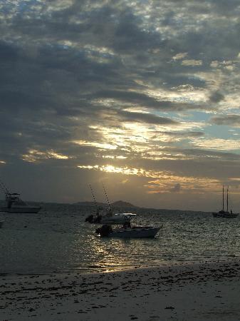 Beach Villa Seychelles : Sunset from Beach Villa