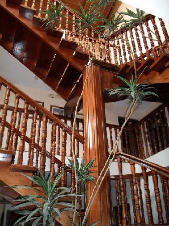 Hotel Desire Costa Rica: Beautiful wood staircase in main building