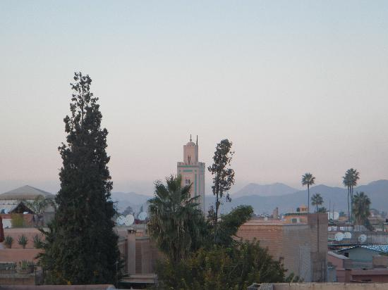 Ryad El Borj: View from the roof terrace