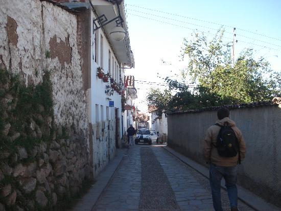 Encantada Casa Boutique Spa: Del Hotel al centro de Cusco