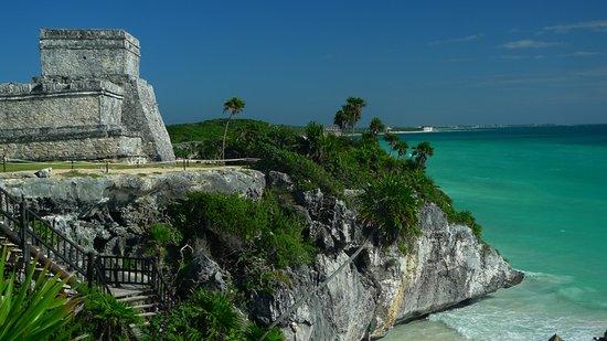Maya-ruinerna i Tulum