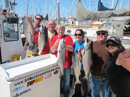 All rivers saltwater charters seattle all you need for Seattle fishing guides