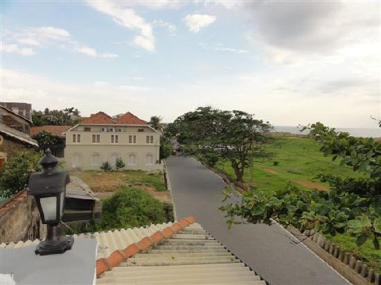 Seagreen Guesthouse: Galle Fort from Seagreen rooftop 1