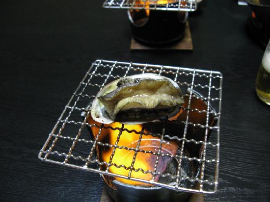 Honjin : 鮑の踊り焼き