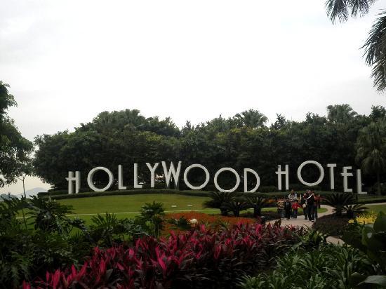 Disney's Hollywood Hotel : the garden