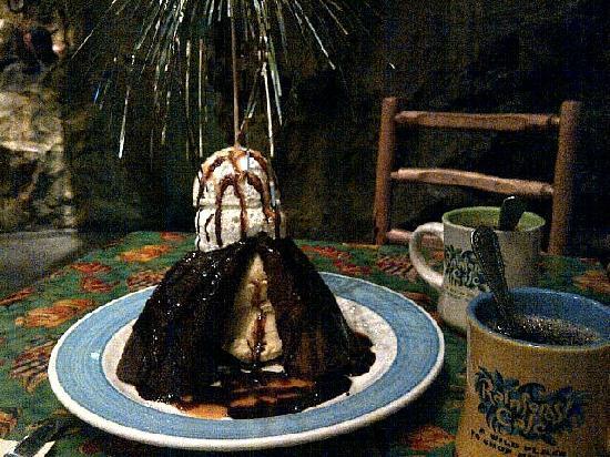 volcano cake could serve 3 or 4 picture of rainforest cafe orlando tripadvisor