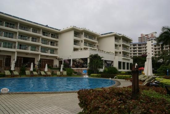 Landscape Beach Hotel Sanya: июль 2011.сергей
