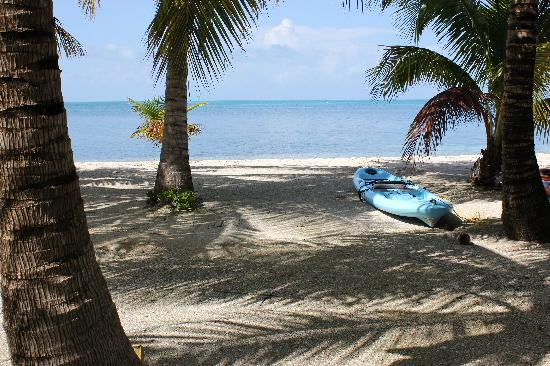 Long Caye Resort: White beaches