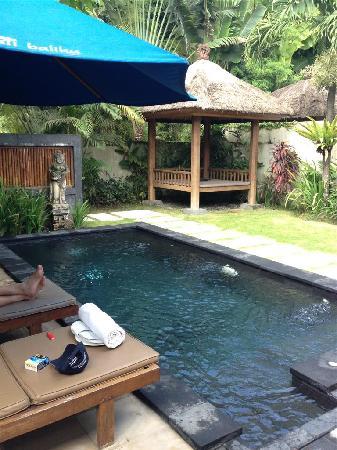 Balibaliku Beach Front Luxury Private Pool Villa: Own pool and private
