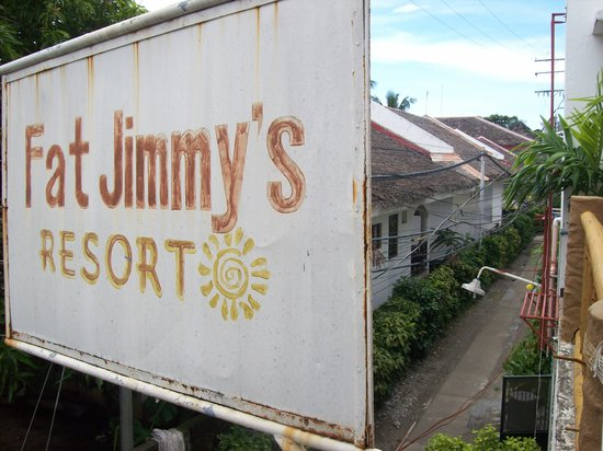 Fat Jimmy's Resort: Beach access