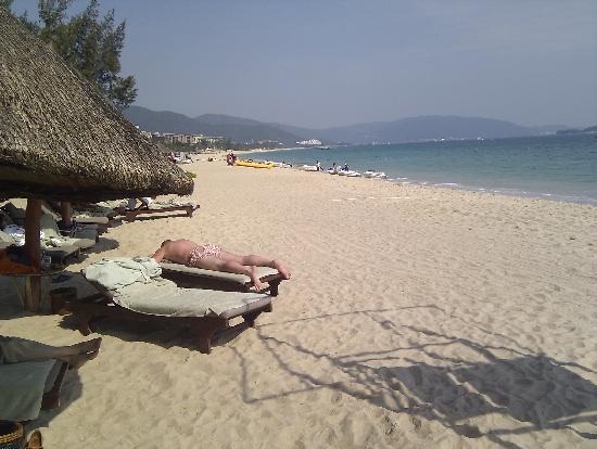 Hilton Sanya Yalong Bay Resort & Spa: Beach
