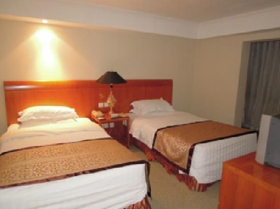 Yong An Hotel: ベッドルーム