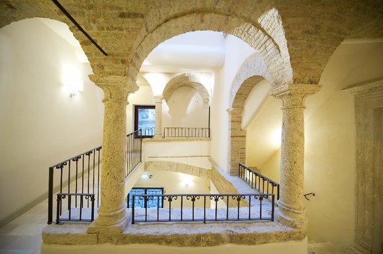 Hotel Palazzo dei Mercanti: Chiostro
