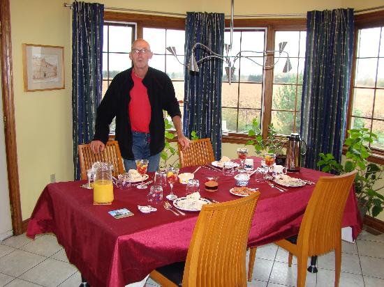 Just for You B&B: De ontbijttafel