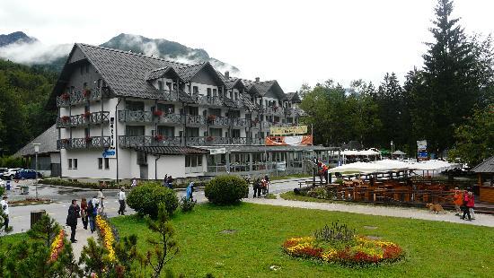 Bohinjsko Jezero, Slovenia: Hotelzicht