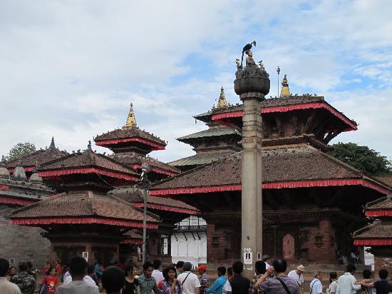 Kathmandu, Nepal: Durbar Square - A facinating old royal palace