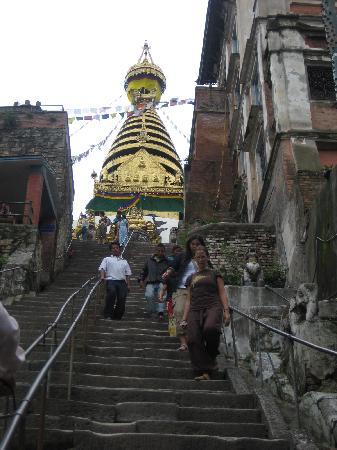 Kathmandu, Nepal: Swayambhu Temple